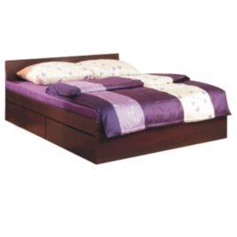 TEMPO KONDELA Manželská posteľ, sosna lareto, 160×200, PELLO TYP 92