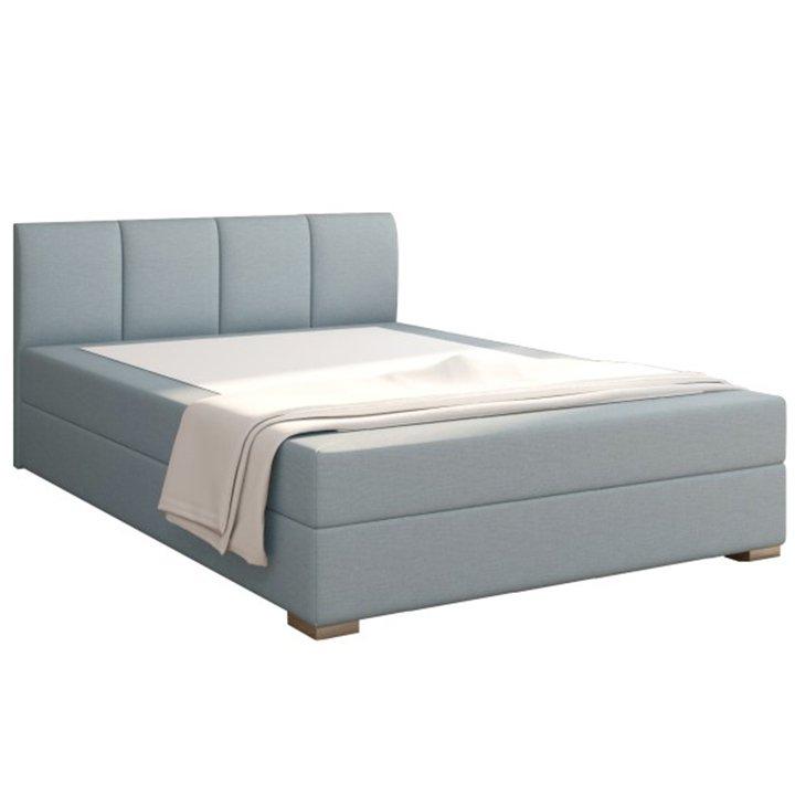 Boxpringová posteľ 120×200, mentolová, RIANA KOMFORT